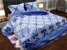 """Ткань для постельного белья Бязь """"Gold"""" Lux """"Абстрактный принт (кружево)"""" GL275"""