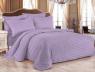 Ткань для постельного белья Страйп-сатин ST240-lavender (60м)