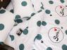 Двоспальний набір постільної білизни 180*220 із Сатину №831 Черешенька™