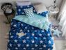 Двуспальный набор постельного белья 180*220 из Сатина №1913AB Черешенка™