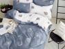 Двоспальний набір постільної білизни 180*220 із Сатину №1908AB Черешенька™