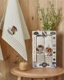 Набір кухонних рушників Nilteks Gualita Koffe 50*70 (2 шт)