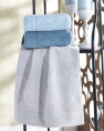 Комплект махровых банных полотенец CESTEPE EVA (150*90)