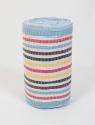 Тканина для рушників на блакитній основі (50м)