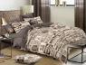 Двуспальный набор постельного белья 180*220 из Сатина №603AB Черешенка™