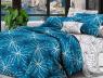 Двоспальний набір постільної білизни 180*220 із Сатину №526AB Черешенька™