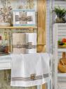 Набор кухонных полотенец Nilteks Mimoza Koffe 50*70 (3 шт)