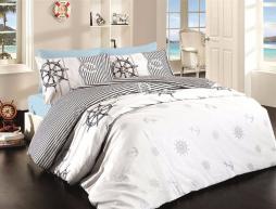 Евро макси набор постельного белья 200*220 из Ранфорса Deeper First Choice™