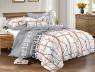 Двуспальный набор постельного белья 180*220 из Сатина №495 Черешенка™