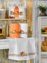 Набор кухонных полотенец Nilteks Mimoza Meyveli 50*70 (3 шт)