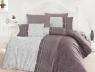 Евро макси набор постельного белья 200*220 из Ранфорса Peitra Leylak First Choice™