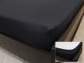 Простынь на резинке (160*200*25) черная