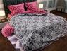 """Полуторный набор постельного белья 150*220 из Бязи """"Gold"""" №151313AB Черешенка™"""