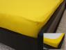 Простынь на резинке (160*200*25) желтая