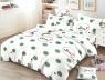 Евро макси набор постельного белья 200*220 из Сатина №831 Черешенка™