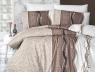 Евро макси набор постельного белья 200*220 из Ранфорса Neron Kahve First Choice™