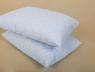 Подушка мікрофібра/холофайбер 50*70 синя (на замку)