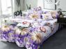 Двуспальный набор постельного белья 180*220 из Сатина №1786 Черешенка™