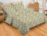 """Ткань для постельного белья Бязь """"Gold"""" """"Маленький вензель"""" GLL5400beige-brown"""