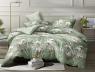 Двуспальный набор постельного белья 180*220 из Сатина №1777 Черешенка™