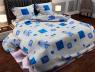 """Ткань для постельного белья Бязь """"Gold"""" Lux """"Морская геометрия"""" GL2899R"""