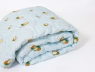Двуспальное летнее одеяло микрофибра/кокосовая койра №41020