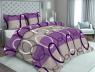 """Ткань для постельного белья Бязь """"Gold"""" Lux GL2070violet"""