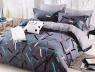 Двоспальний набір постільної білизни 180*220 із Сатину №1903AB Черешенька™