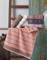 Комплект махрових банних рушників CESTEPE CIZGILI (140*70)