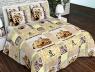 """Тканина для постільної білизни Бязь """"Gold"""" Lux GL011R"""