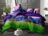 Семейный набор хлопкового постельного белья из Ранфорса №183128 Черешенка™