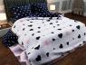 """Полуторный набор постельного белья 150*220 из Бязи """"Gold"""" №151520AB Черешенка™"""