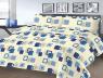 """Ткань для постельного белья Бязь """"Gold"""" Lux """" """"Геометрикцветочный"""" GL4202"""
