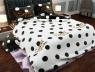 """Двуспальный набор постельного белья 180*220 из Бязи """"Gold"""" с простынью на резинке №147490AB Черешенка™"""