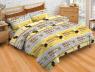 """Ткань для постельного белья Бязь """"Gold"""" """"Цветная полоса"""" GLL13023brown"""
