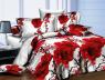Семейный набор хлопкового постельного белья из Ранфорса №182215 Черешенка™
