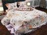 "Ткань для постельного белья Бязь ""Gold"" Lux ""Архитектура Парижа""GL157"
