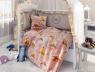 """Ткань для постельного белья Бязь """"Gold"""" Lux """"Мишки"""" детская GLB011"""