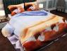 """Ткань для постельного белья Бязь """"Gold"""" Lux """" Белые лебеди"""" GL779"""