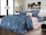 Семейный набор хлопкового постельного белья из Ранфорса №181990AB Черешенка™