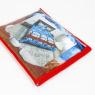 Упаковка для постільної білизни (червона) - двоспальна