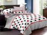 """Семейный набор хлопкового постельного белья из Бязи """"Gold"""" с простынью на резинке №143053 Черешенка™"""