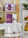 Набір кухонних рушників Nilteks Mimoza Lavanta 50*70 (3 шт)