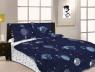 """Ткань для постельного белья Бязь """"Gold"""" Lux """"Неизведанная вселенная"""" GL1648 (A+B) - (50м+50м)"""