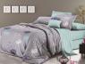 Двоспальний набір постільної білизни 180*220 із Сатину №654АВ Черешенька™