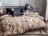 Семейный набор хлопкового постельного белья из Ранфорса №183290AB Черешенка™