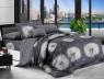 Семейный набор хлопкового постельного белья из Ранфорса №181408AB Черешенка™