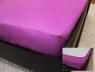 Простынь на резинке (160*200*25) лавандовая