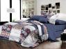 Ткань для постельного белья Ранфорс R1710 (A+B) - (60м+60м)