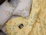 Двуспальный набор постельного белья 180*220 из Сатина №869AB Черешенка™